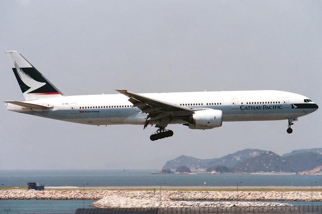 Cathay Pacific | Boeing 777-200 | B-HNC | Hong Kong International