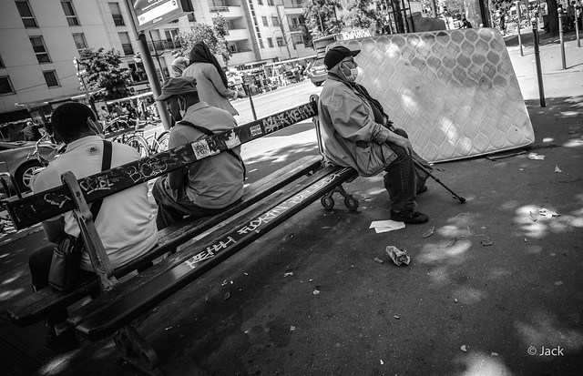 le matelas - street Covid19 #21