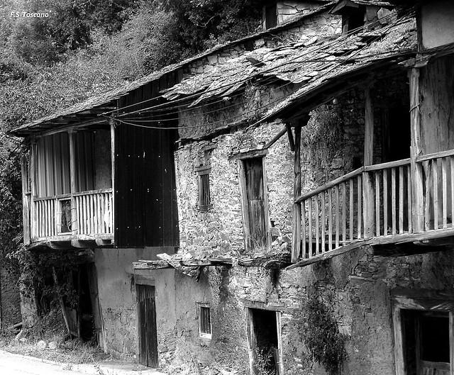 Arquitectura rural en El Bierzo. León.