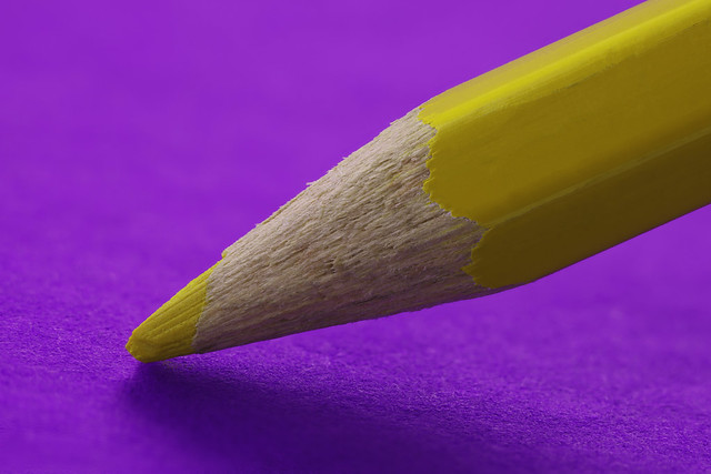 Pencil pusher: yellow