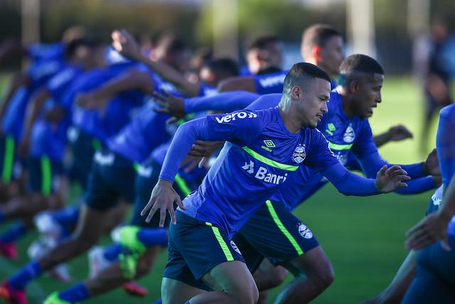 Treino Grêmio 14/06/2021