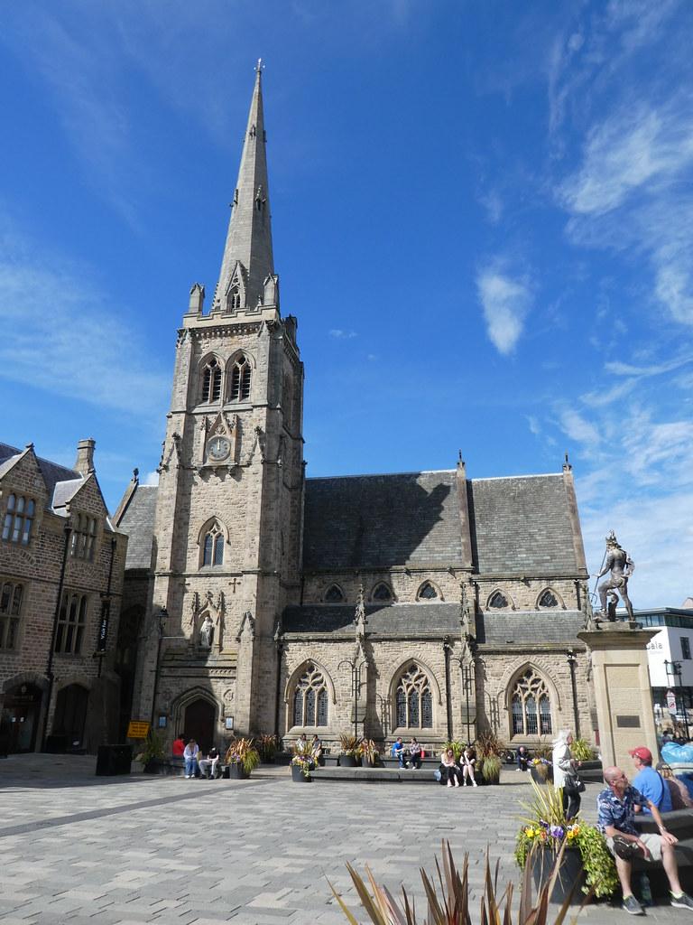 The church of St. Nicholas, Durham