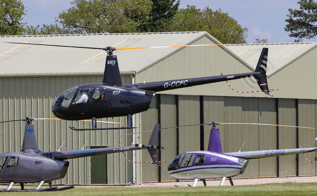 G-CCFC  Robinson R44 II