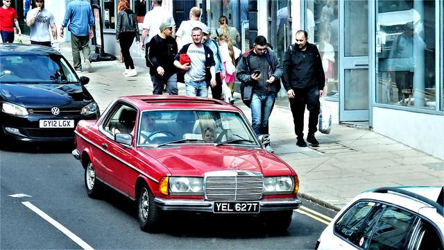 1978 Mercedes Benz 280 Coupe.