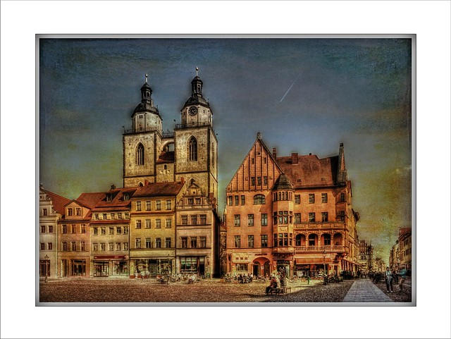 Unterwegs in Lutherstadt - Wittenberg