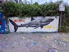 #graffiti #streetart #shark