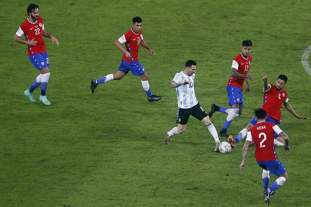 Argentina x Chile - Copa América no Nilton Santos - 14/06/2021