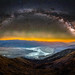 Dante's View Milky Way Mount Whitney Badwater Basin Death Valley National Park Summer Fuji GFX100 Fine Art Landscape Nature Photography California! DVNP Night Sky Astro Photography Dr. Elliot McGucken Master Medium Format Photographer!  Fujifilm GFX 100