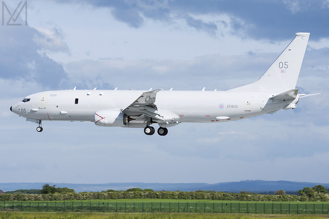 Royal Air Force, Boeing P-8A Poseidon MRA Mk1, ZP805
