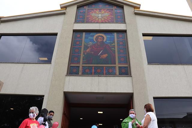 Peregrinação da Imagem da Imaculada Conceição na Paróquia Nossa Senhora de Fátima - Vila Fátima