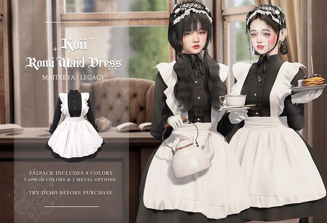 † Koii † Romi Maid Dress @Kustom9