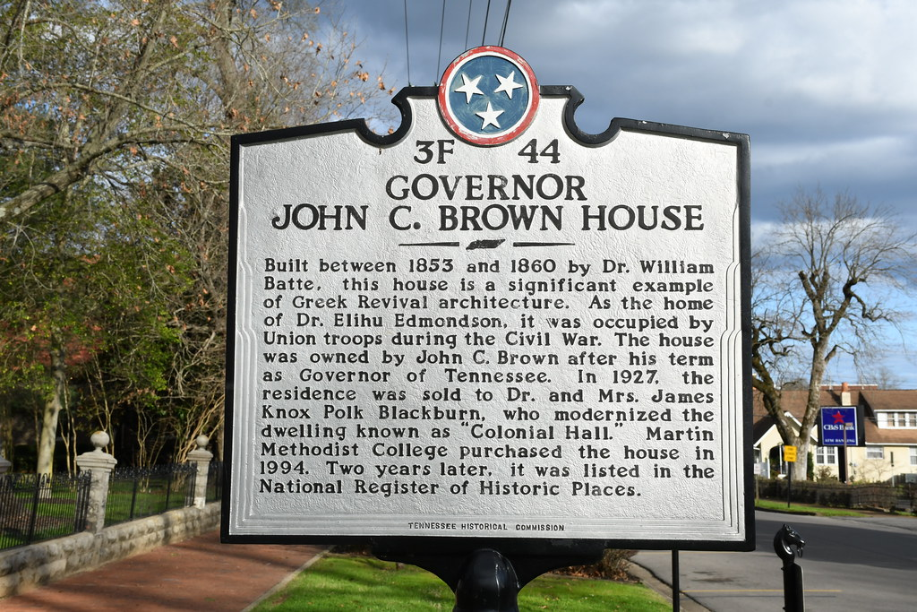 Martin Methodist College – Grissom Colonial Hall (Pulaski, Tennessee)