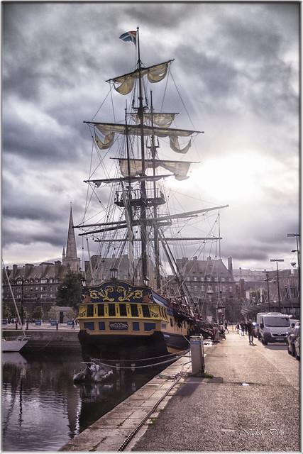 Frégate corsaire - Etoile du Roy - Saint-Malo