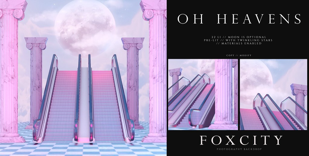 FOXCITY. Photo Booth – Oh Heavens