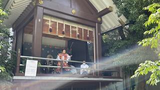 元三島神社 神楽