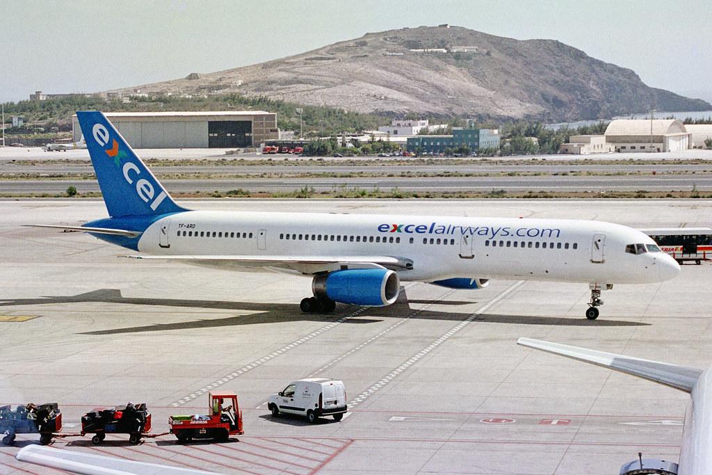 TF-ARD 2 Boeing 757-225 Excel Airways (Air Atlanta Icelandic) LPA 08MAR04