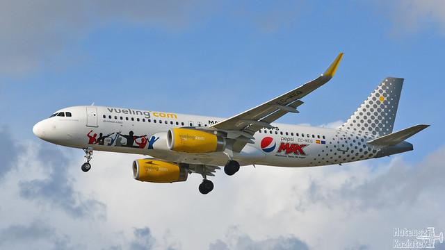 Vueling 🇪🇸 Airbus A320-200 EC-MEQ