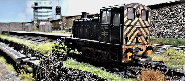 Shunter 03197 Stabled at Scunby.