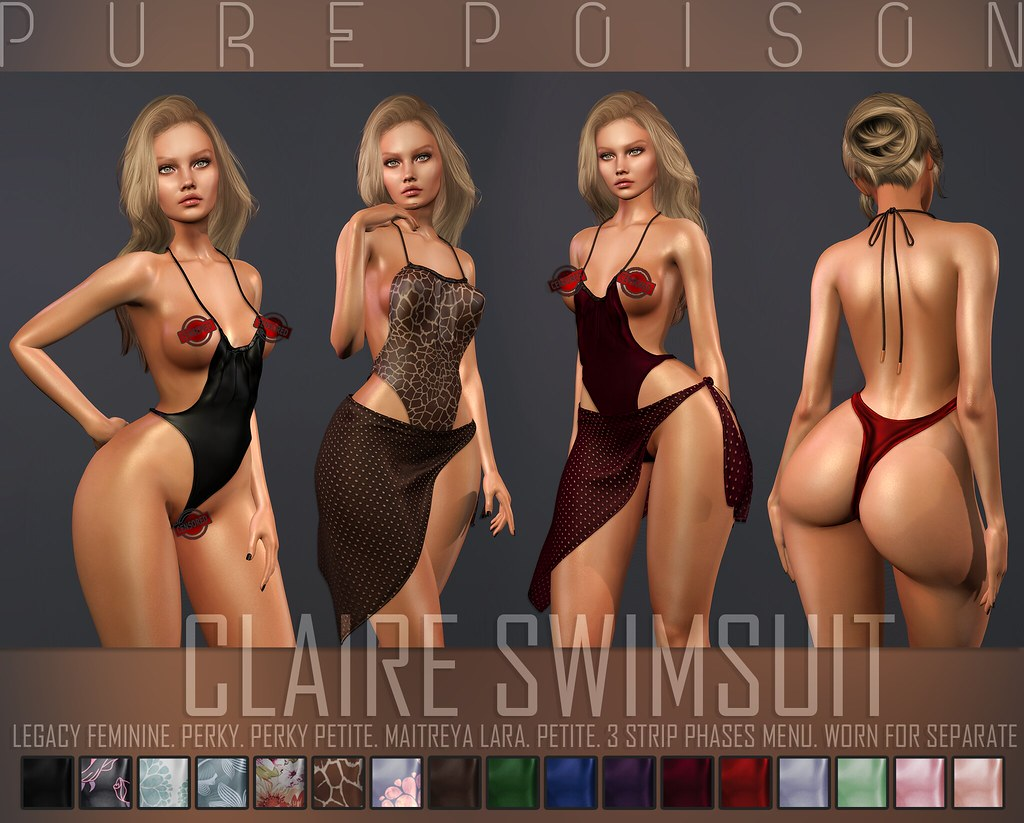 Pure Poison – Claire Swimsuit – Kustom9