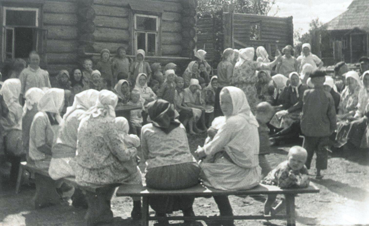 1926-1927. Деревня Бирюково. «Семик». Север (3)