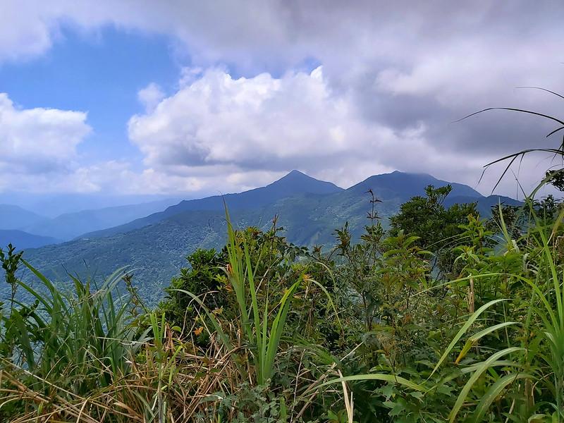 Mt. Badaoer, Mt. Meilu and Mt. Gaoyao in Wulai Taiwan