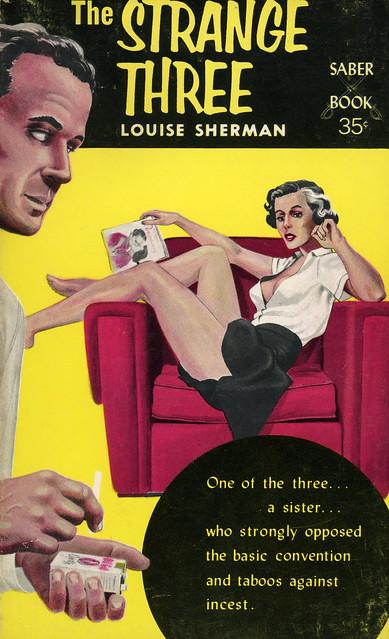 Saber Books SA-1 - Louise Sherman - The Strange Three