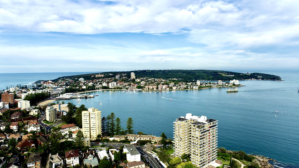 Drone-Services-Manly-Aerial-View-Sydney