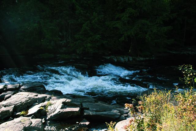 Saranac Lake  - New York  - Saranac River - Adirondack State National Park