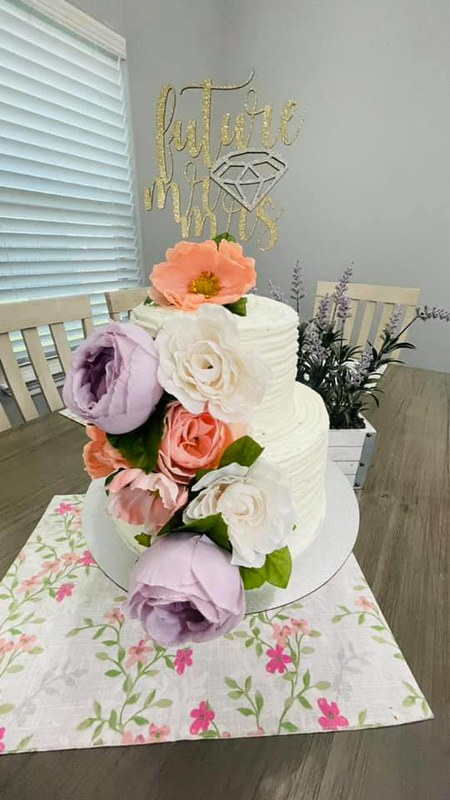 Cake by Dazzling Bowtique