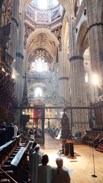 Coro Francisco Salinas. Salamanca