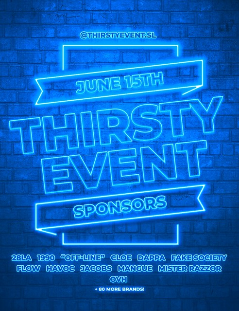 Thirsty Event - June