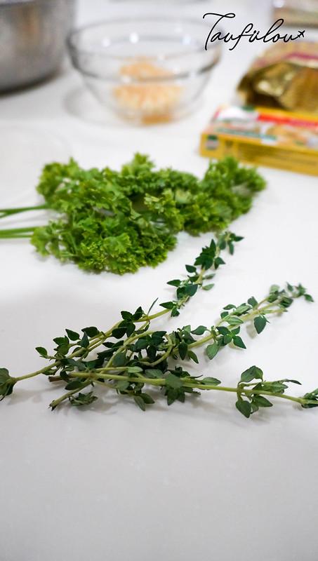 herbs for mushroom soup
