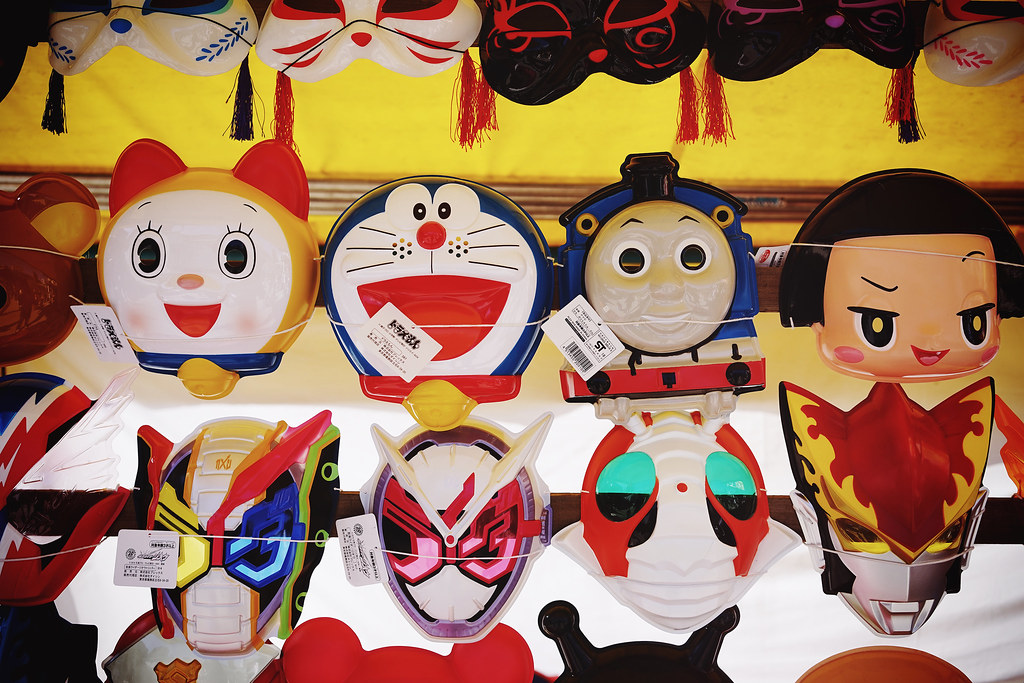 I'm always going to choose Doraemon