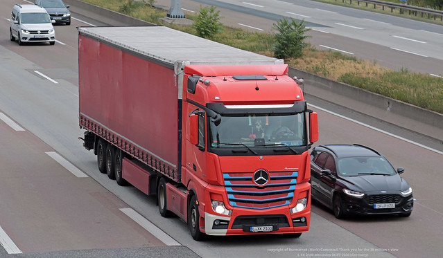 L XK 2100 Mercedes 08-07-2020 (Germany)