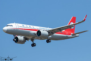 F-WWTK / B-323L Airbus A320-271N Sichuan Airlines s/n 10188 - First flight * Toulouse Blagnac 2021 *