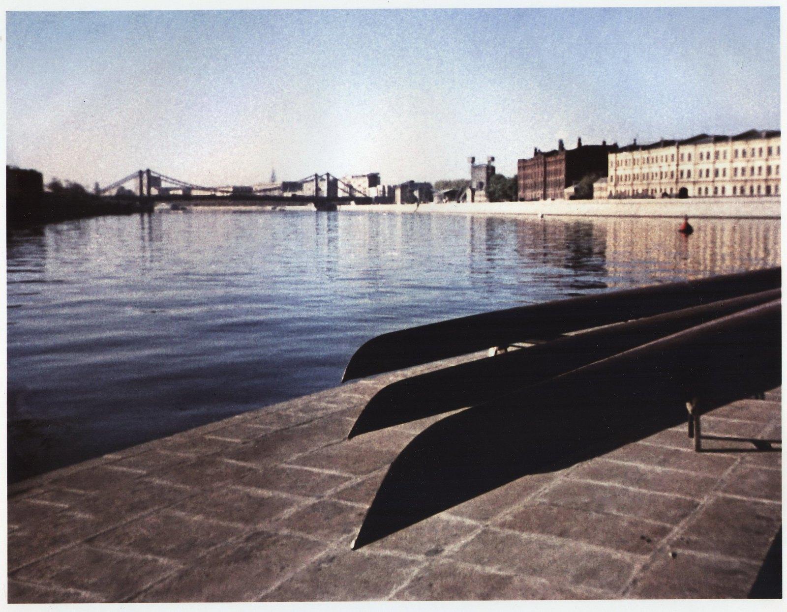 1964. Вид на Крымский мост