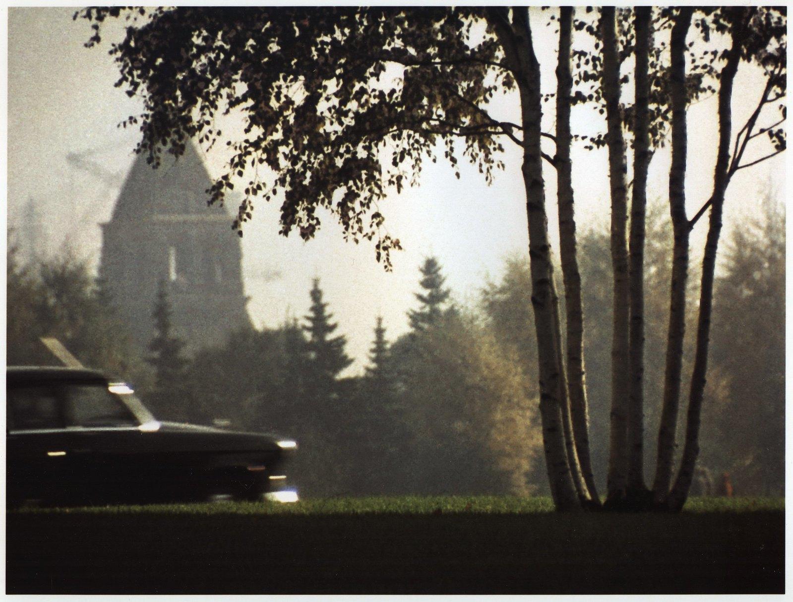 1964. Вид на Константино-Еленинскую башню Московского Кремля
