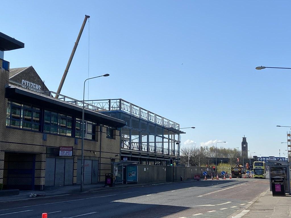 Citizens Theatre Redevelopment: External Steelworks