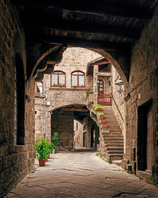 Viterbo - Quartiere Medievale San Pellegrino