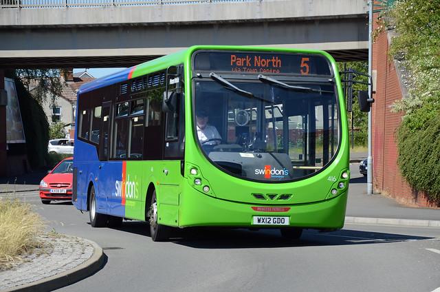 Swindon's Bus Co. WX12 GDO, Swindon