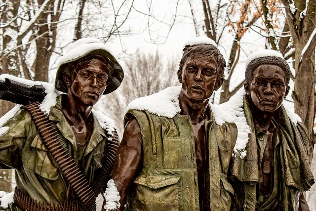 Vietnam Three Soldiers