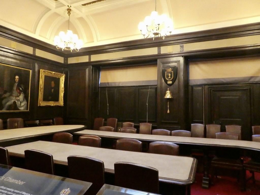 The Mayor's Chamber, Durham Town Hall