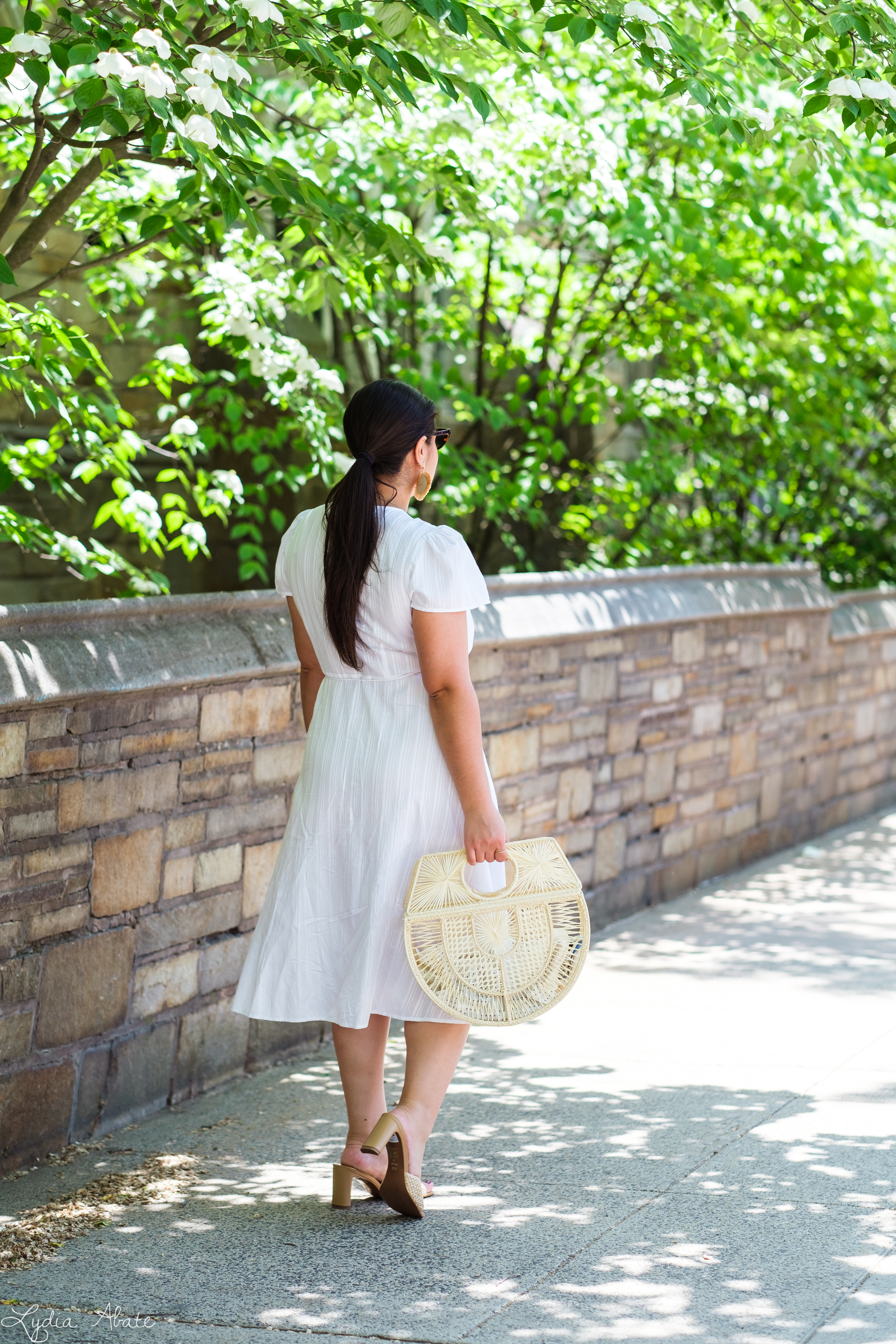 little white wrap dress, raffia basket bag, raffia heels-3.jpg