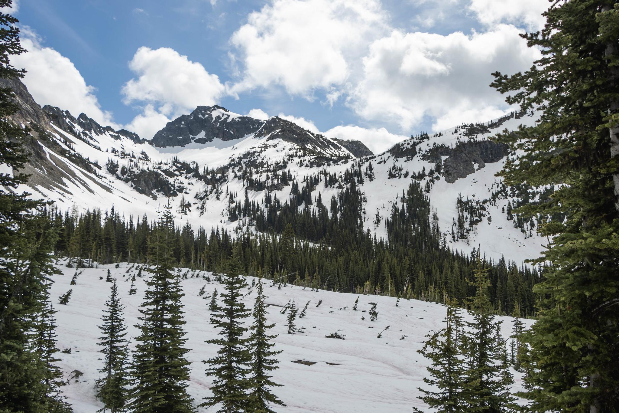Copper Benchmark above Copper Pass