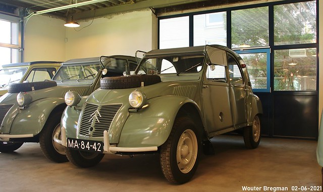 Citroën 2CV Sahara 4x4 1964