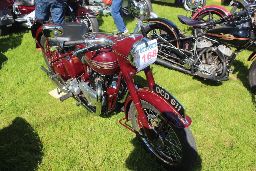Triumph 1954 5T Speed Twin 500cc OCD 611