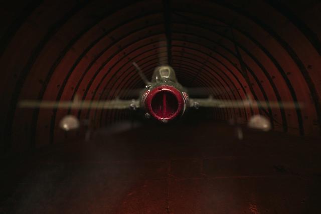 Da ist sie ja, die МиГ-19