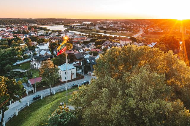 Lithuanian flag | Kaunas aerial #167/365