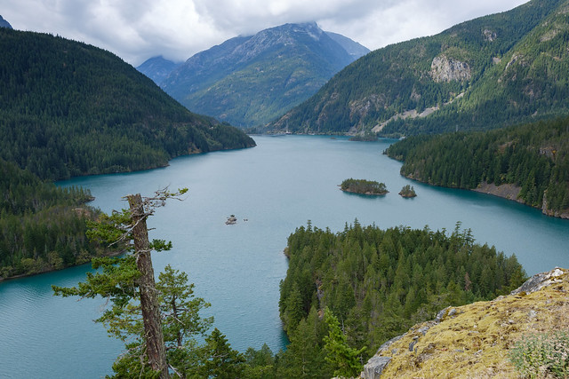 Ross lake North Cascades NP