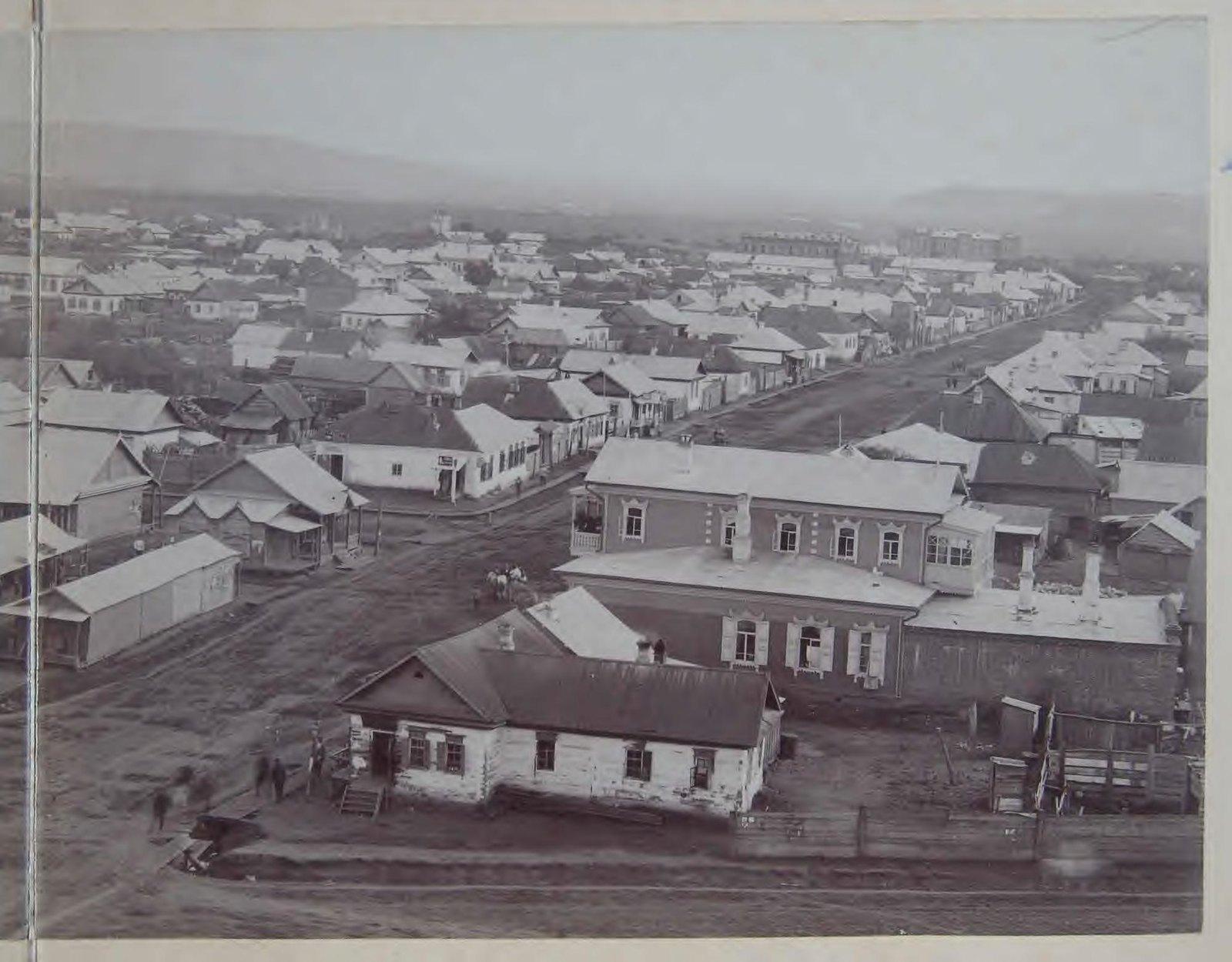 Часть панорамы города. 1898